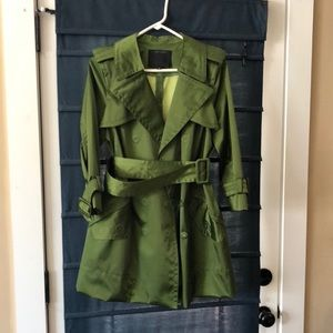 Marc Jacobs size 10, green trench coat